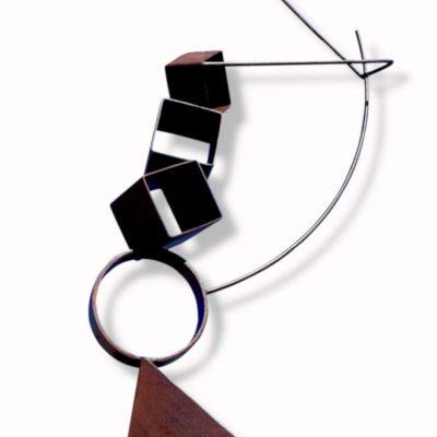 escultura-acero-corten-tenerife-acrobata