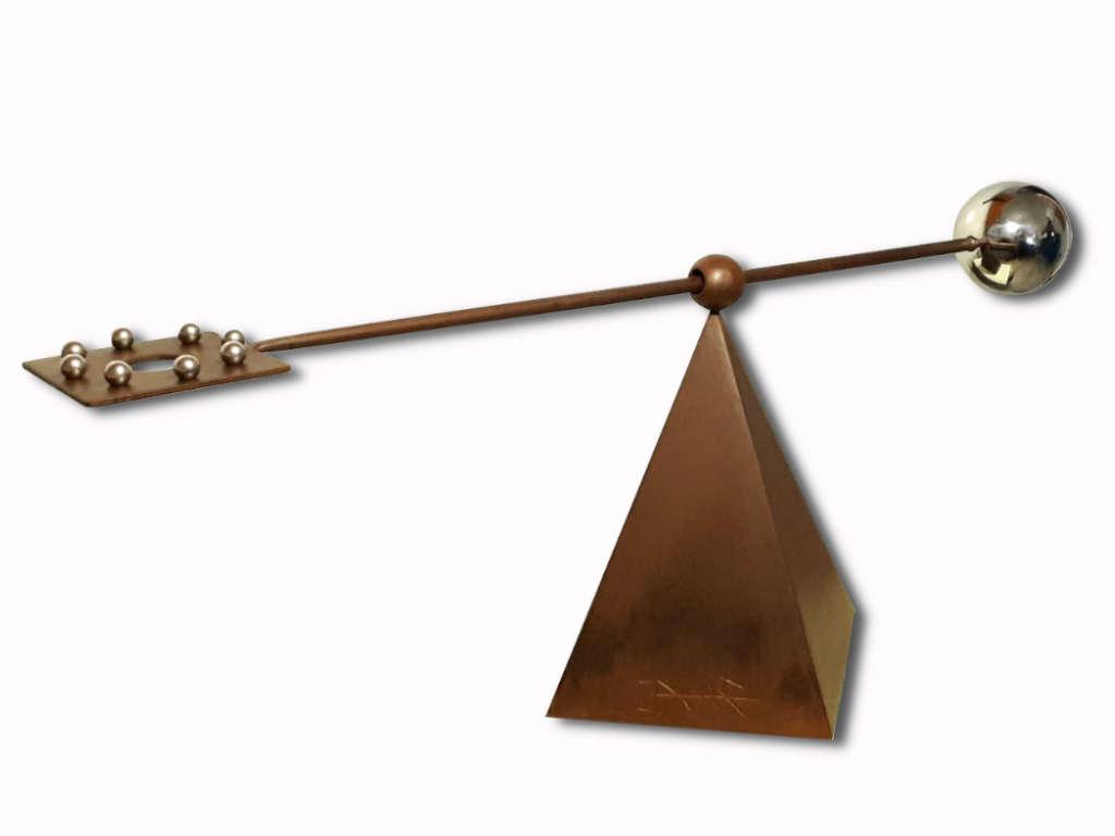 escultura-acero-corten-tenerife-equilibrio