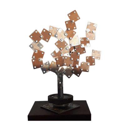 escultura-hierro-acero-corten-tenerife-siempre-juntos