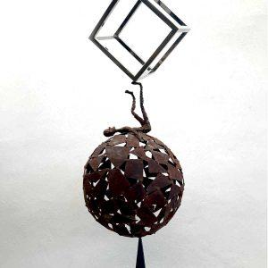 escultura-acero-corten-inoxidable-tenerife