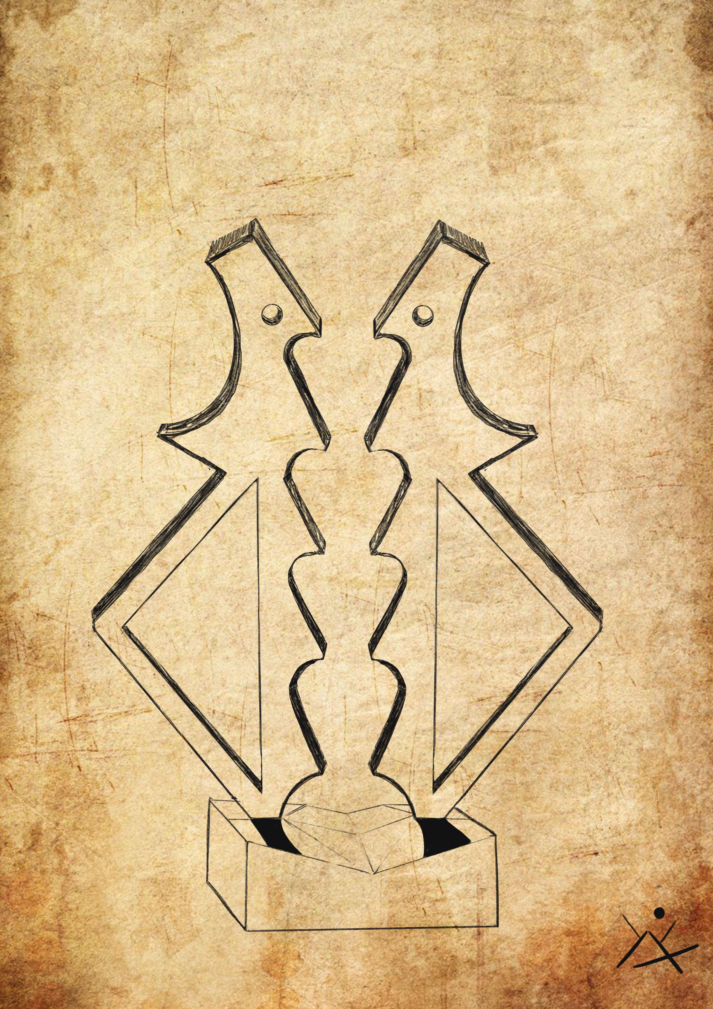 boceto escultura