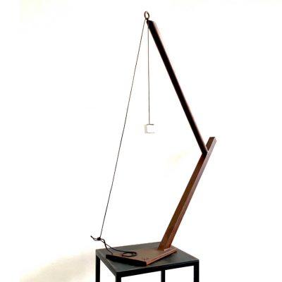 escultura hierro cinética abstracta