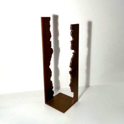 escultura hierro abstracta