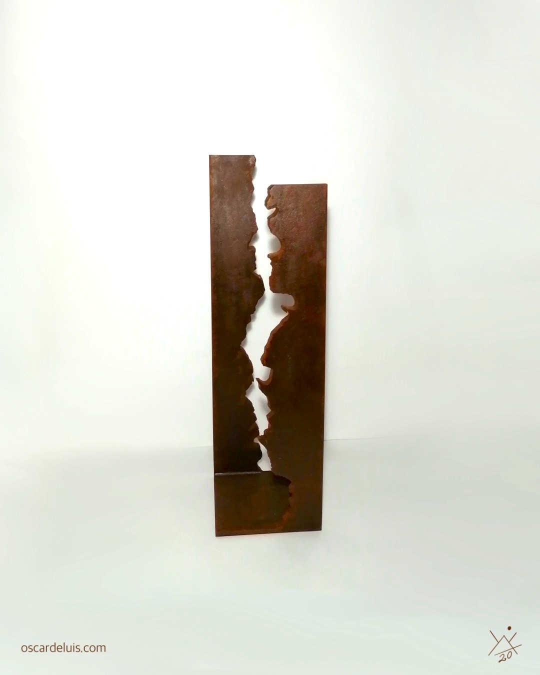 http://oscardeluis.com/escultura-abstracta-latidos