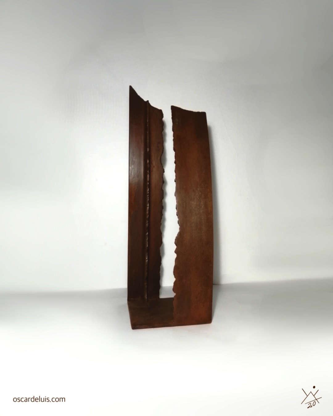escultura en hierro tenerife