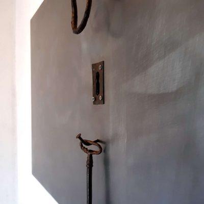 escultura en pared tenerife